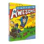 Captain Awesome Goes to Superhero Camp 异能船长去露营 儿童英文初级章节小说 英文原版进口 英雄主题小学课外读物 原版进口