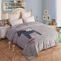 拉舍尔毛毯双层加厚冬季被子单双人儿童卡通珊瑚绒薄毯子空调午睡y 双层加厚200*230 约7斤