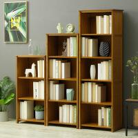 幽咸家居 简易书架置物架多层落地中式客厅学生儿童复古书柜
