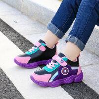 女童二棉鞋秋冬季儿童加绒运动鞋中大童男童鞋子保暖冬鞋韩版童