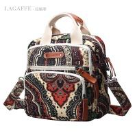 女士包包单肩斜挎手提包大容量女包旅行双肩包多功能帆布背包休闲