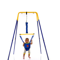 健身架 带秋千 婴幼儿弹跳健身架宝宝婴儿健身器跳跳健身椅玩具秋千0-9岁 +秋千