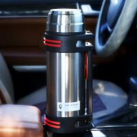 户外保温壶304不锈钢大容量长保暖壶家用车载旅行杯大号水壶2L
