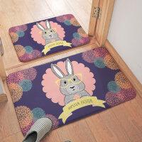 脚垫门垫进门浴室防滑垫踩脚地垫卧室家用卫生间厕所门口吸水地毯 45x120 CM
