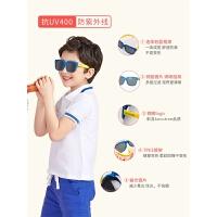 儿童太阳镜男童女童眼镜偏光宝宝墨镜防紫外线潮