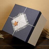 正方形礼品盒超大伴手礼礼物盒大号礼物包装盒生日*盒包装盒子
