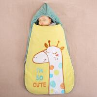 龙之涵婴儿睡袋春秋款婴儿被子夏薄款宝宝婴儿抱被防惊跳睡袋新生儿用品
