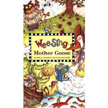 Wee Sing Mother Goose (With CD) 欧美经典儿歌:鹅妈妈童谣(附CD)9780843104851