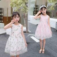 童装连衣裙夏装中大童宽松公主裙儿童裙子