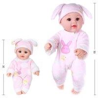 仿真娃娃玩具婴儿女孩软硅胶全软胶洋娃娃逼真睡眠会说话的假娃娃