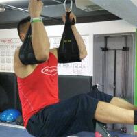 腹肌悬垂悬挂训练带 托臂肘腹肌训练器健身引体向上举腿