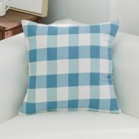 沙发靠枕抱枕套客厅全棉麻印花抱枕皮靠垫抱枕套不含芯大号正方形