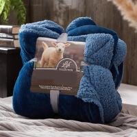 加厚保暖珊瑚绒毯子双层法兰绒毛毯被子床单双人冬季小毛毯y