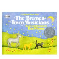 英文原版 The Bremen Town Musicians 不莱梅的音乐家 平装 [4-8岁]
