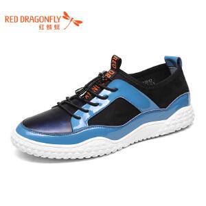 红蜻蜓男鞋休闲鞋秋冬鞋子男WTA7151