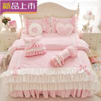 四件套韩版保暖柔天鹅绒短毛绒四件套床裙式公主风珊瑚绒四件套床品定制