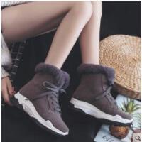 新款高帮加绒帆布鞋女韩版学生原宿ulzzang百搭二棉棉鞋