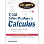 【预订】Schaum's Outline of 3000 Solved Problems in Calculus