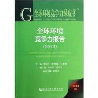 全球环境竞争力报告(2013版)/全球环境竞争力绿皮书