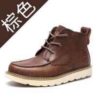 2019秋季新款男士时尚马丁靴男休闲工装鞋男鞋子欧美短靴