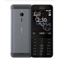 Nokia/诺基亚 230 DS老人机移动2G直板按键功能机 大字大声大屏老年人手机 超长待机 男女款学生备用超薄手机