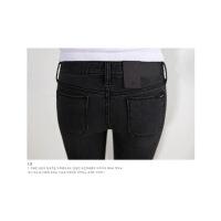 热卖【天天特价】秋季新款显瘦黑色弹力牛仔裤女灰色提臀小脚长裤紧身