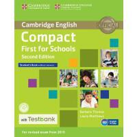 【预订】Compact First for Schools Student's Book Without Answer