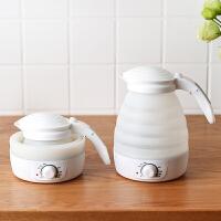 便携式烧水壶户外旅行可折叠车载耐高温食品级硅胶电热水壶