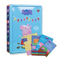 [现货]英文原版Peppa Pig 小猪佩奇 精品礼盒装 0-3岁亲子阅读 中文译名:小猪佩奇 粉红猪小妹 小猪佩佩