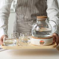 玻璃茶壶耐热煮茶壶耐高温加厚家用养生泡花茶壶水果茶壶茶具套装