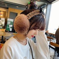 耳罩女冬天百搭蝴蝶结学生可爱耳套冬季保暖护耳暖韩版潮耳包耳捂