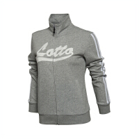 乐途卫衣女士运动生活系列开衫长袖外套立领梭织运动服EWDL006