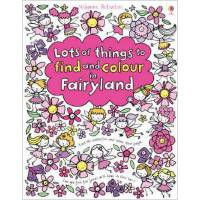 [现货]Lots of Things to Find and Colour in Fairyland