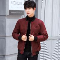 棉衣男士外套新款韩版潮流短款休闲修身冬装棒球领棉袄潮
