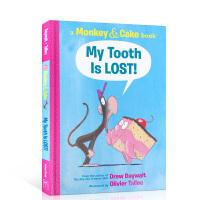 英文原版绘本 My Tooth Is LOST!我的牙掉了!Monkey and Cake猴子和蛋糕系列 儿童英语启蒙