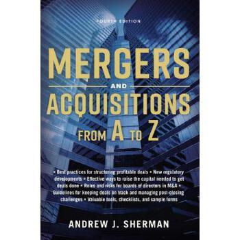 【预订】Mergers and Acquisitions from A to Z 预订商品,需要1-3个月发货,非质量问题不接受退换货。
