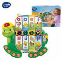 vtech伟易达小海龟早教书 学习拼音动物交通益智玩具