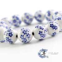 青花饰品 陶瓷手工手链 瓷珠 青花瓷 优雅古典
