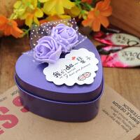 创意 喜糖盒心形马口铁定制糖盒 结婚喜糖盒 马口铁糖盒