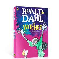 顺丰发货 女巫 The Witche 罗尔德达尔 英文原版小说 roald dahl 全英文版儿童读物桥梁书 可搭查理