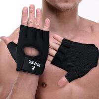 乐士ENPEX 新款手套 运动护掌半指手套 骑行 举重护具2219两只装护手