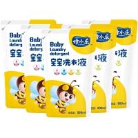 蜂小乐 天然蜂胶 宝宝婴儿洗衣液500ml*5袋