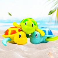 抖音同款宝宝洗澡玩具戏水酷游小乌龟发条上链婴儿童玩水戏水花洒