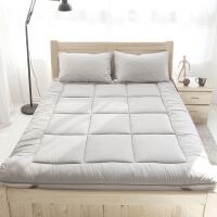 阿摩家居柔软床护垫席梦思保洁垫可折叠床褥子垫被 灰 色