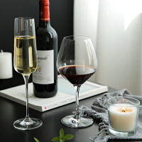 欧式水晶红酒杯家用大号无铅高脚杯创意香槟杯葡萄酒杯鸡尾酒杯子