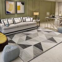 北欧地毯客厅沙发茶几垫现代简约卧室床边满铺个性长方形地垫定制k