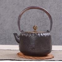 铁壶仿日本南部铸铁壶绝壁生铁壶烧水壶茶具茶壶煮茶器烧水铁壶电陶炉套装日本老铁茶壶茶具