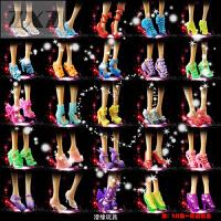 洋芭比娃娃鞋水晶鞋衣服女孩首饰过家家玩具高跟鞋子通用配套