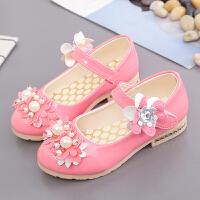 童鞋女童公主鞋宝宝鞋儿童单鞋女童学生鞋