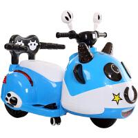 儿童电动摩托车三轮车带遥控小孩玩具车可坐人男女宝宝电瓶车充电ZQ139 +遥控